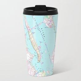 Vintage Map of Port St Lucie Inlet (1948) Travel Mug
