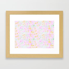 playing with color  Framed Art Print