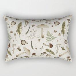 Mushroom pattern 1 white Rectangular Pillow