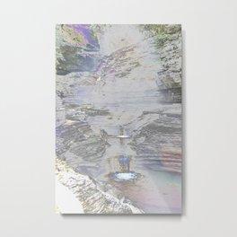 Chromascape 9 (Watkins Glen) Metal Print