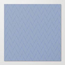 Modern zig zag Canvas Print