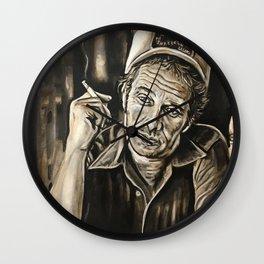 Merle Haggard Wall Clock