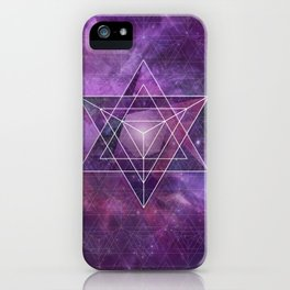 Metatron's Merkaba  iPhone Case