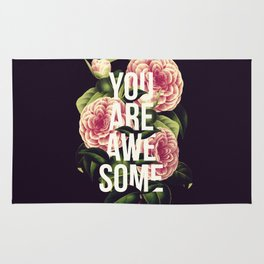 You Are Awesome Rug
