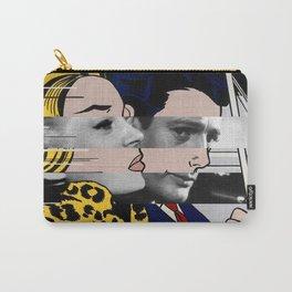 "Roy Lichtenstein's ""In the car"" & Marcello Mastroianni with Anita Ekberg in La Dolce Vita Carry-All Pouch"