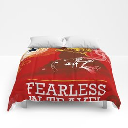 FEARLESS: In Travel Comforters