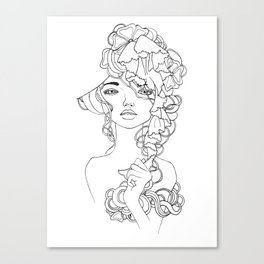 Girl#2 Canvas Print