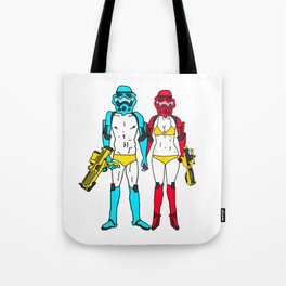 Mr. and Mrs. Storm Tote Bag