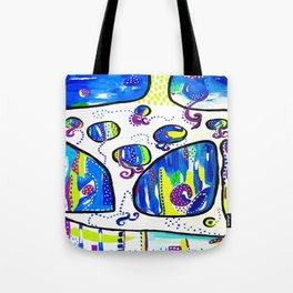 The Wandering Jellies Tote Bag