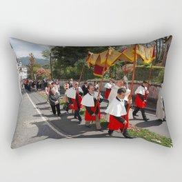 Procession Rectangular Pillow