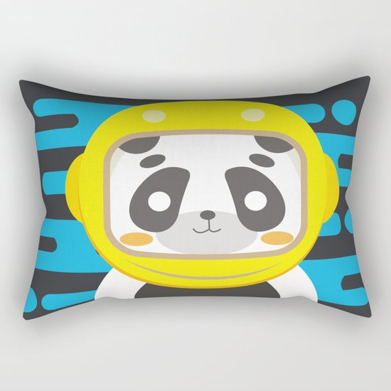 ASTROPANDA Rectangular Pillow