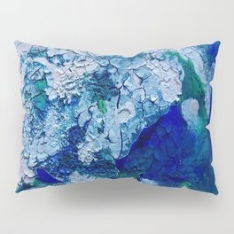 Imagined Ocean View From Above Pillow Sham