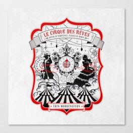 The Night Circus - light Canvas Print