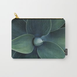 Dark green leaves Carry-All Pouch