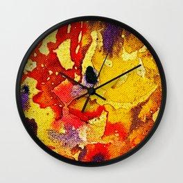 Polychromoptic #3 by Michael Moffa Wall Clock