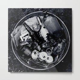 Garbage. Metal Print