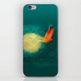 El vuelo de Alondra iPhone Skin