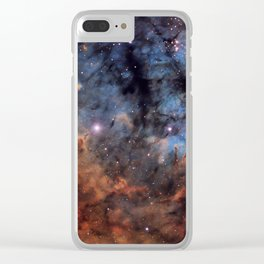 The Devil Nebula Clear iPhone Case