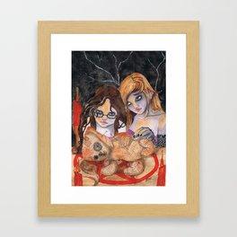 Voodoo Apprentices Framed Art Print