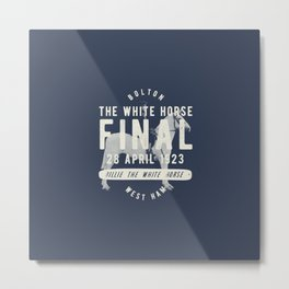 White Horse Cup Final 1923 Metal Print