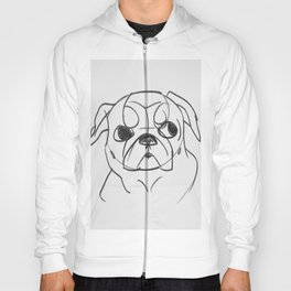 PUG - DOG SERIES NO.001 Hoody