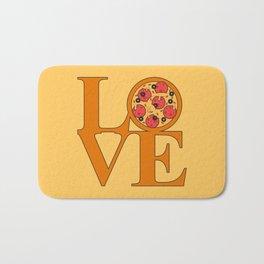 Love Pizza Bath Mat