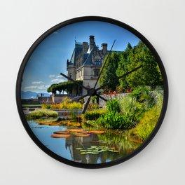 The Biltmore Estate Gardens Wall Clock