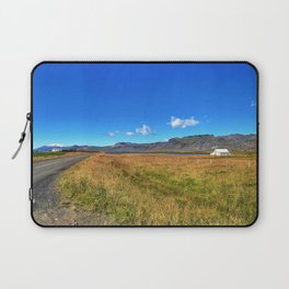 Roadside Vew of Snæfellsjökull Glacier in West Iceland (1) Laptop Sleeve