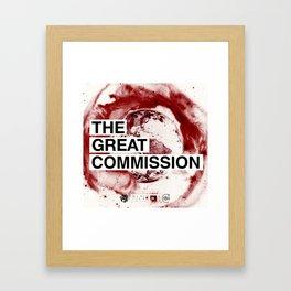 Great Commission Album Cover Framed Art Print