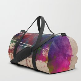 guitar art 5 #guitar #music Duffle Bag