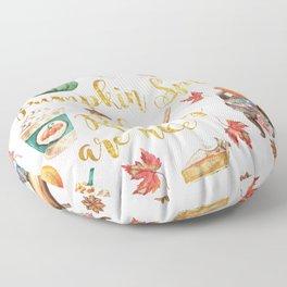 Pumpkin Spice & Reading are Nice Floor Pillow