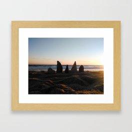 Fort Bloqué Framed Art Print