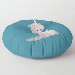 Otterly Magical Floor Pillow