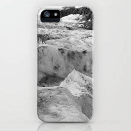 Four-legged George on the Rocks iPhone Case