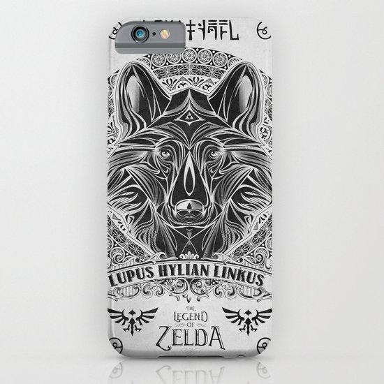 Legend of Zelda Twilight Wolf Link Line Art iPhone & iPod Case