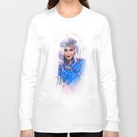 sister Long Sleeve T-shirts featuring SISTER by AnnArk