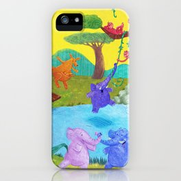 Having fun in the sun iPhone Case
