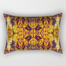 Patterned Paintography  Rectangular Pillow