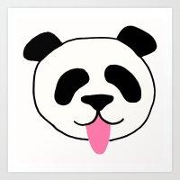 PandaFun Art Print