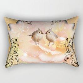 Cute birds Rectangular Pillow