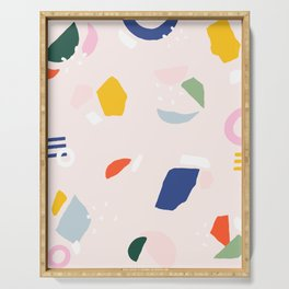 Not Your Grandmother's Terrazzo Serving Tray