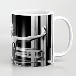 Joan Crawford, Hollywood Starlet Grand Hotel black and white photograph / art photography Coffee Mug