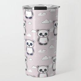 Cute Panda Bear Party Travel Mug