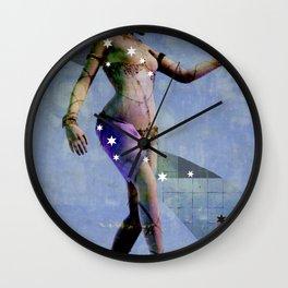 Fatale - Salomé - Night Wall Clock