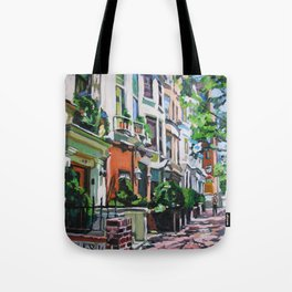 Westside Townhouses, Upper West Side Tote Bag
