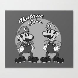 Vintage Bros. Canvas Print