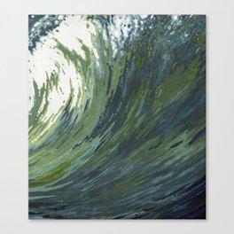 Big Pacific Ocean Wave Canvas Print