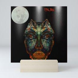 Real Werewolf, Lycan,  Wolfman, monster, Mini Art Print
