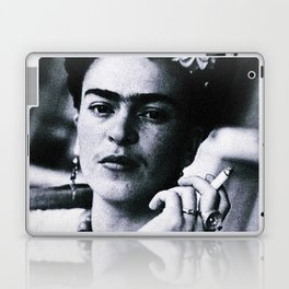 Frida Kahlo Smoke Laptop & iPad Skin