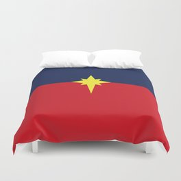 Captain Mar-vell Costume Duvet Cover